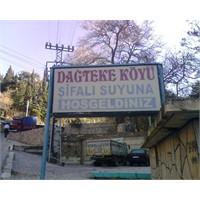 Torbalı Dağtekke Köyü Şifalı Suyu
