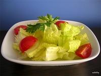 Kalp Damar Hastalarına Zeytinyağlı Sirkeli Salata