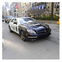 Mercedes'ten 2012 Cls63amg İcin Farkli Tanitim