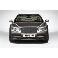 Yolların En Güçlü Sedanı 2014 Bentley Flying Spur!
