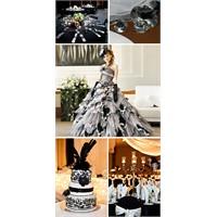 Film Gibi Siyah Beyaz Düğünler…