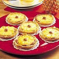 Ananaslı Tartoletler