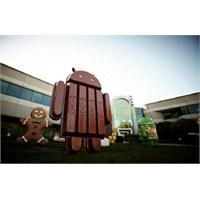 Android 4.4 Kitkat Geliyor.