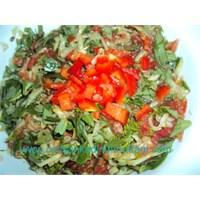 Salatali Semizotu Salatasi