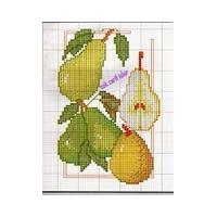 Meyve Desenli Kaneviçe İşlemeler