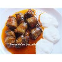 Rulo Köfteli Patlıcan Yemeği