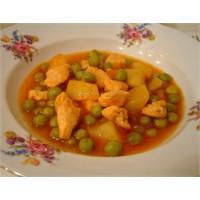 En Başarılı Yemek Girişimi; Bezelye, Patates Filan