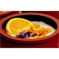 Portakallı Yoğurtlu Sütlaç