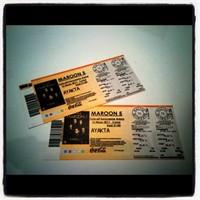 Maroon 5 İstanbul'daydı!