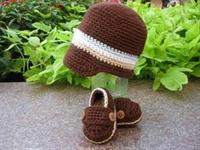 Bebek Şapka Örgüsü,kemerli Şapka Örgüsü