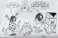 Taş Devri 1 – Karikatür
