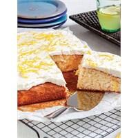 Bademli Ve Limon Kremalı Kek