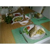 Balık Menüsü(Akşam Yemeği Sofrası)