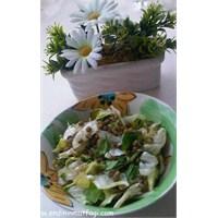 Ton Balıklı Mercimekli Salata