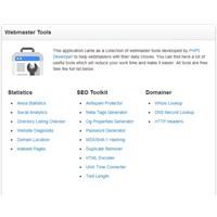 Webmaster Araçları Scripti (Webmaster Tools)
