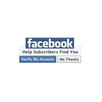 Dikkat Facebook Hesabınızı Doğrulayın!