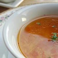 Tahinli Tavuk Çorbası