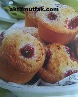 Frambuazlı Muffin