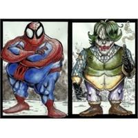 Süper Kahramanlar Kilo Alırsa