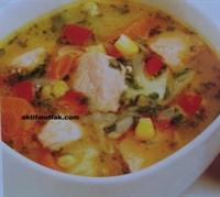 Somon Balıklı Çorba