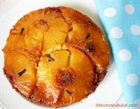 Karamel Soslu Ananaslı Kek