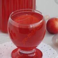 Kırmızı Erik Suyu (Doğal Vitamin Kaynağı)
