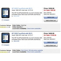 Hp Touchpad Tablet Bilgisayar 99$