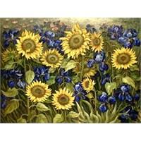 Van Gogh Mutasyona Uğramış Çiçekleri Resmetmiş