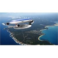 Güneş Enerjisiyle Çalışan Yolcu Uçağı