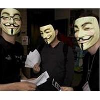 Anonymous'tan İsrail'e Üç Aşamalı Saldırı!