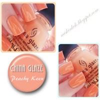 Yaz Ojesi : China Glaze Peachy Keen