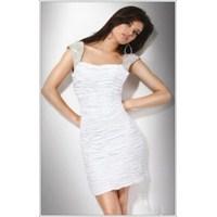 Beyaz Renk Abiye Modelleri