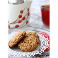 Parça Çikolatalı Yulaflı Kurabiyeler (Cookies)