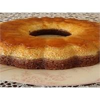 İkramlık Krem Karamelli Kek