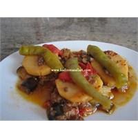 Patatesli Patlıcan Musakka