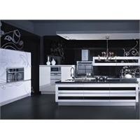 Siyah Mutfak Dekorasyon Modelleri