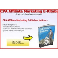 Cpa Affiliate Marketing E-kitabı