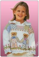Çok Şık İşlemeli Çocuk Kazak Modelleri