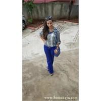 Kombin Önerileri 99 : Saks Mavi Pantolon