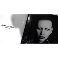 Saint Laurent'ın Yeni Yüzü Marilyn Manson