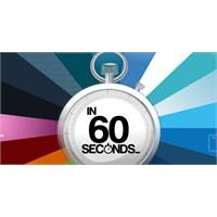 60 Saniyede İnternette Neler Oluyor Dersiniz ?
