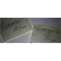 Hatırlamak Laneti Aklımın..