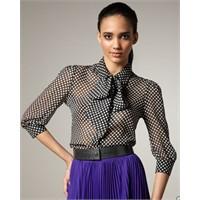 Moda: Fular Yakalı Gömlekler