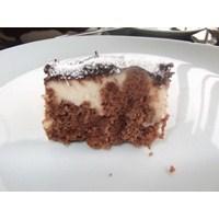 Çikolata Soslu- Küpkek Pasta