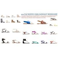 2013 Yaz Sezonu Zara Sandalet Modelleri