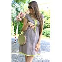 Fosfor Detaylı Elbise… / Phosphoric Detailed Dress