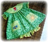 El İşi Çocuk Elbiseleri