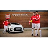 Yeni Citroen Ds5, Arsenal Futbolcuları İle Buluştu