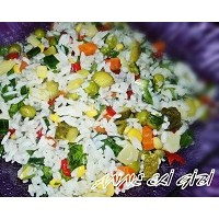 Pirinç Salatası (Çin Pilavı)
