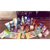 Kozmetik Alışverişi Ve Vazgeçilmezlerim !